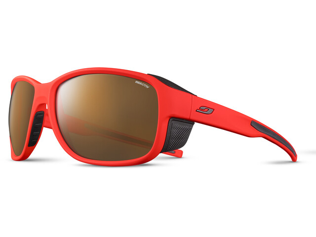 Julbo Montebianco 2 Reactiv High Mountain 2-4 Sunglasses, orange